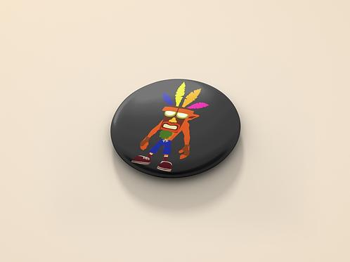 Crash Bandicoot Masked Crash Pin