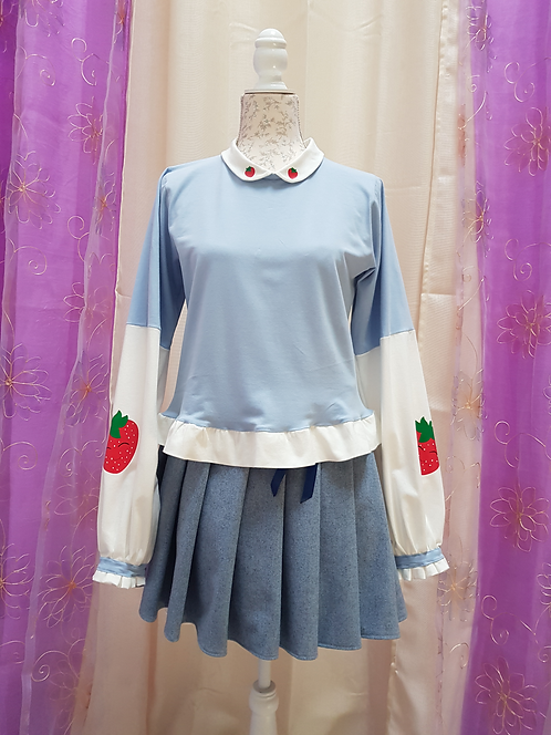 Kawaii Strawberry Sweatshirt