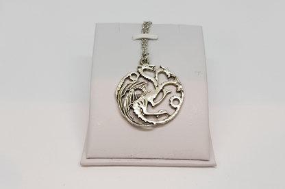 Game of Thrones House Targaryan Logo Necklace #2