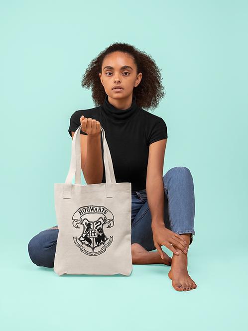 Harry Potter Hogwarts Crest Tote Bag