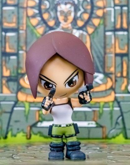 Tomb Raider Mini Figure Lara Croft Lootcrate Exclusive 8 cm
