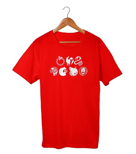 Nanatsu no Taizai Sins Tatoos T-Shirt