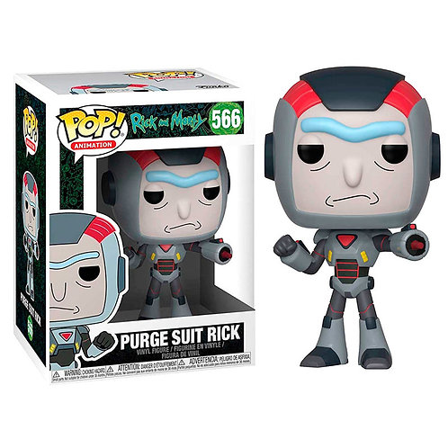 Rick and Morty POP! Animation Vinyl Figure Purge Suit Rick 9 cm