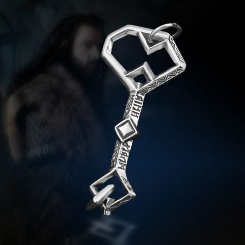 The Hobbit Thorin Oakenshield Key - Key of Erebor Necklace