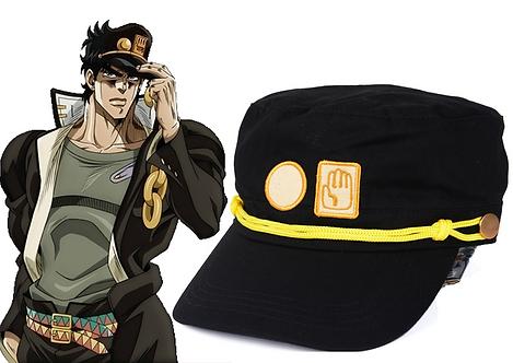 JoJo's Bizarre Adventure Jotaro Black Hat / Cap