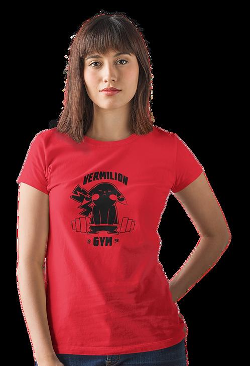 Funny Pokemon Inspired Pikachu Vermilion Gym T-Shirt