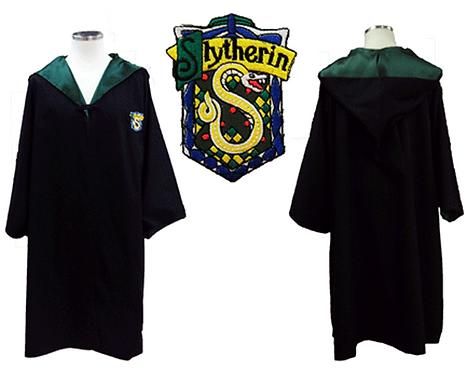 Harry Potter Slytherin Cloak Cosplay
