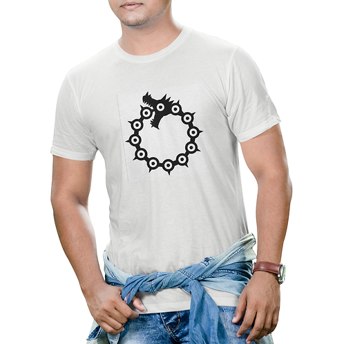 Seven Deadly Sins Meliodas Tattoo T-Shirt