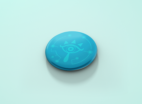 Legend of Zelda Breath of the Wild Sheikah Eye Pin