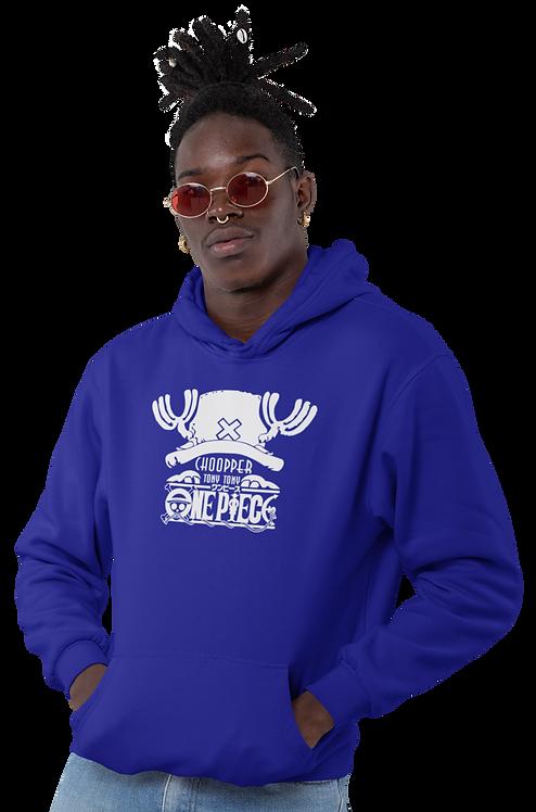 One Piece Logo - Chopper Inspired Hoodie