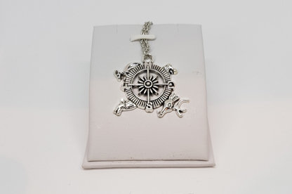 Game of Thrones Westeros Compass Necklace