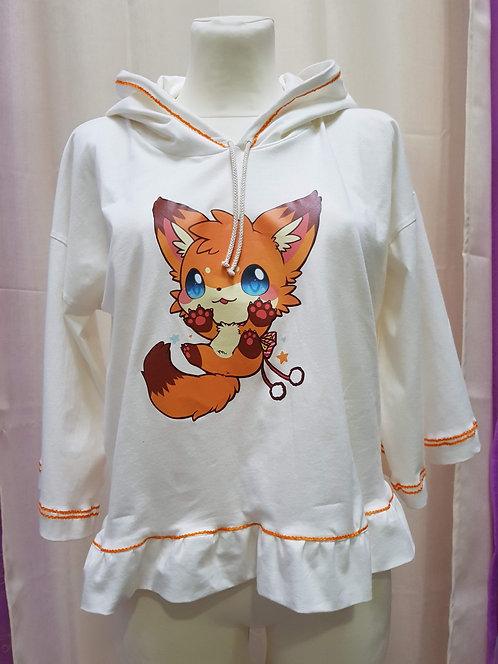 Kawaii Fox Hoodie