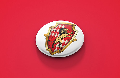 Harry Potter Gryffindor Crest Pin