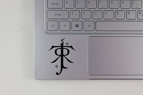 J.R.R. Tolkien Initials Lord of the Rings Inspired Decal