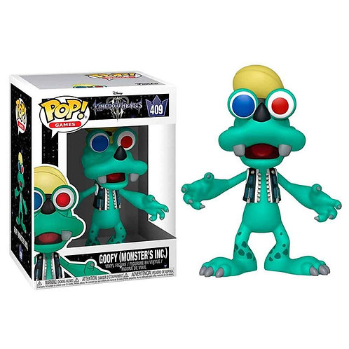 Kingdom Hearts 3 POP! Disney Vinyl Figure Goofy (Monsters Inc.)