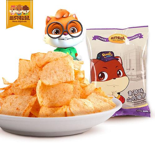 Three Squirrels Chinese Yam Chips