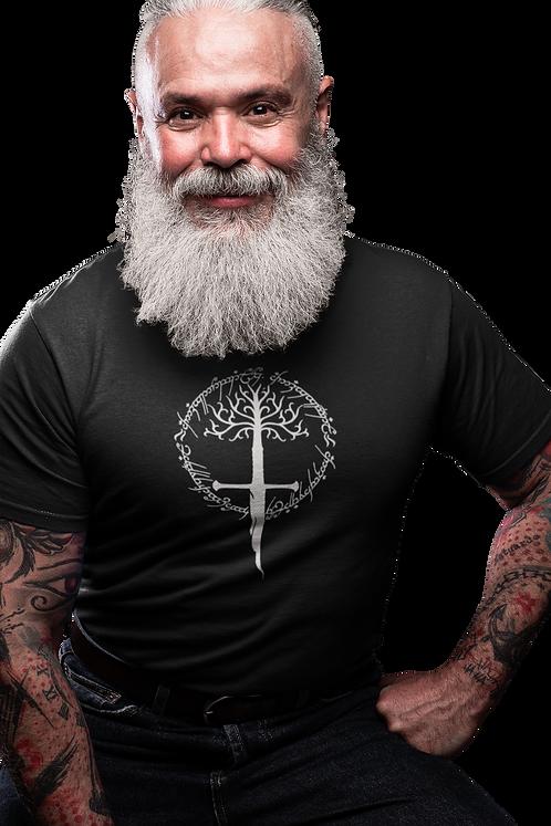 Lord of the Rings Logo - Tree Gondor Narsil T-Shirt