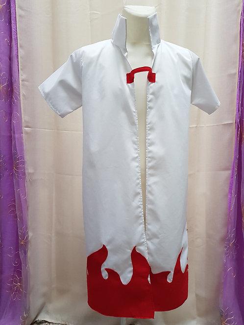 Minato Fourth Hokage Cape Cloak Cosplay