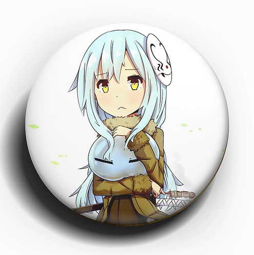 The Time That i Got Reincarnated as a Slime Rimuru Button Pin