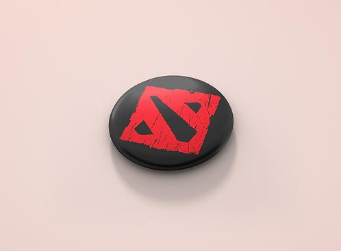 Dota 2 Logo Pin