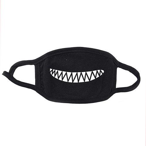 Kawaii Shark Smile Face Mask