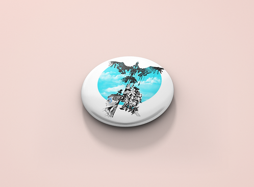 Horizon Zero Dawn Stormbird Pin