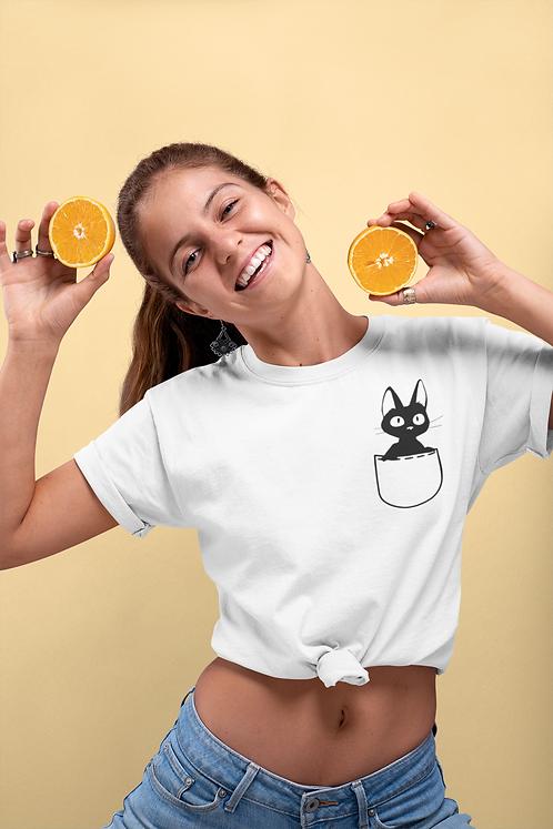 Kiki's Delivery Service - Pocket Cat Jiji T-Shirt