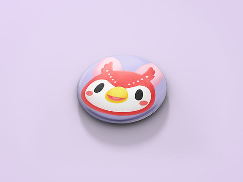 Animal Crossing Celeste Pin