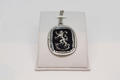 Game of Thrones House  Lannister Logo Necklace