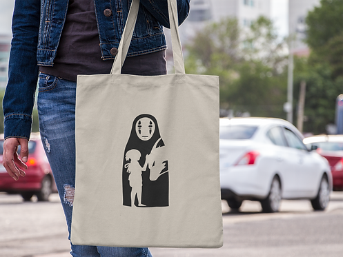Spirited Away Chihiro Tote Bag