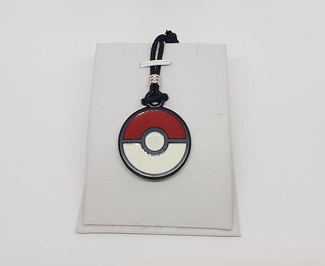 Pokemon Logo Ball Necklace