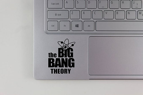 The Big Bang Theory Logo Decal