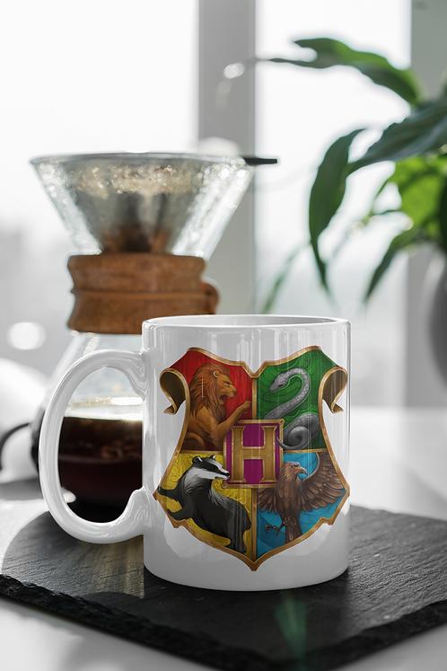 Harry Potter - Hogwarts Logo Mug