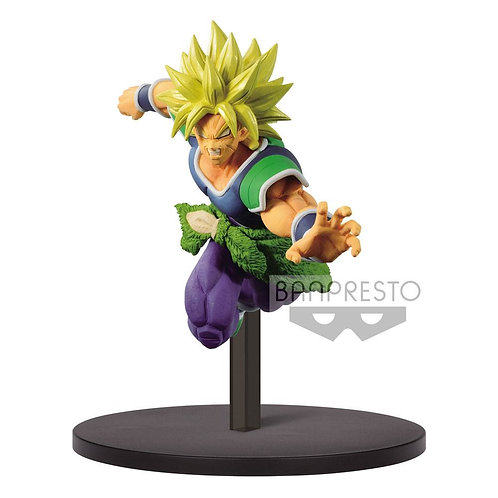 Dragon Ball Super Match Makers Statue Super Saiyan Broly 18 cm