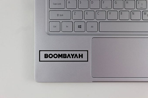 K-POP Black Pink  Boom Bayah Song Decal