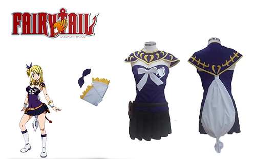 Fairy Tail Lucy Heartfilia Great Magic Games Cosplay
