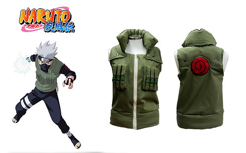 Naruto Kakashi Vest Cosplay