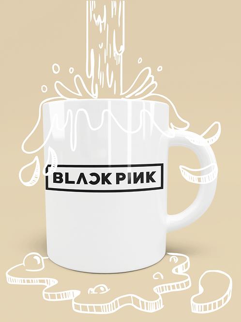 K-Pop BlackPink Logo Mug