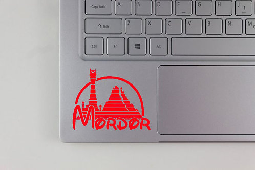 Lord of the Rings Inspired Disney Logo Decal