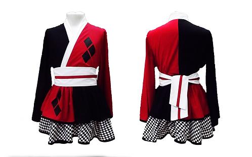 Harley Quinn Inspired Kimono