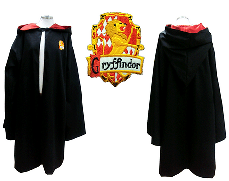 Harry Potter Gryffindor Cloak Cosplay