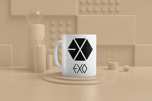 K-Pop EXO Logo Mug