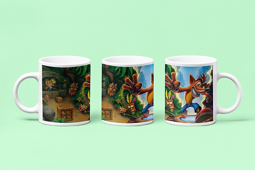 Crash Bandicoot Mug