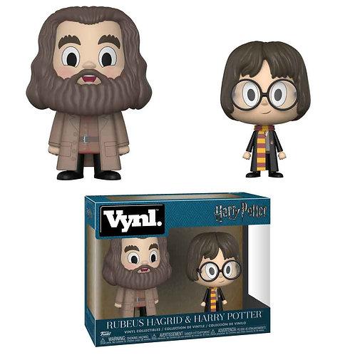 Harry Potter VYNL Vinyl Figures 2-Pack Hagrid & Harry 10 cm