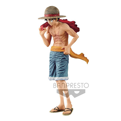 One Piece magazine PVC Statue Monkey D. Luffy Cover of 20th Anniversary 22 cm
