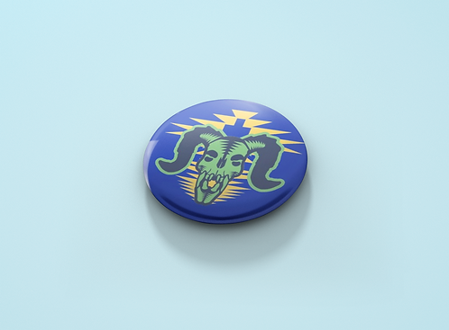 Fallout Deathclaw Skull Pin