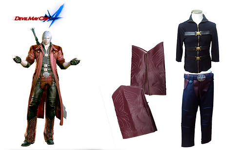 Devil May Cry 4 - Dante without Jacket