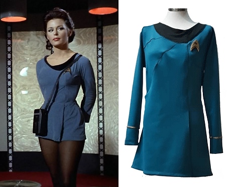 Star Trek Blue Uniform (Science/Medical) Cosplay