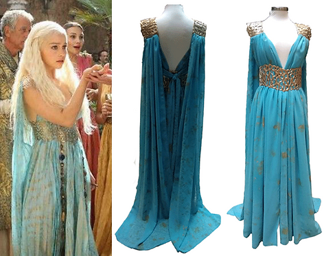 Game of Thrones Daenerys Targaryen S2 Cosplay