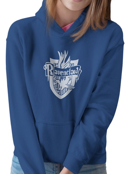 Harry Potter - Ravenclaw House Crest Hoodie